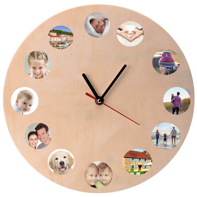 3ff88047b8c05a horloge-en-bois-a-decorer-ronde-30-cm-l - NIDALYS