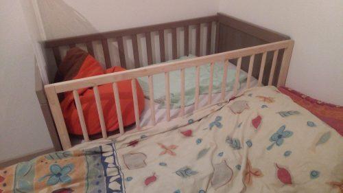 Barrière de lit pour cododo